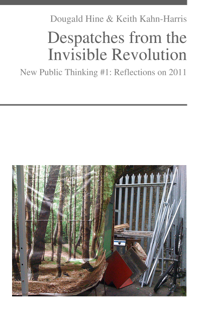 Book cover of Despatches from the Invisible Revolution