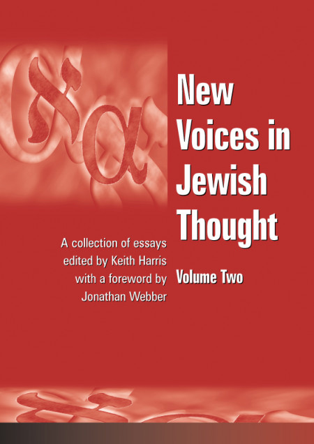 Book cover of New Voices in Jewish Thought: Volume Two