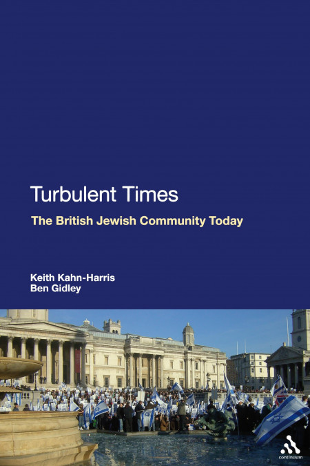 Book cover of Turbulent Times: The British Jewish Community Today